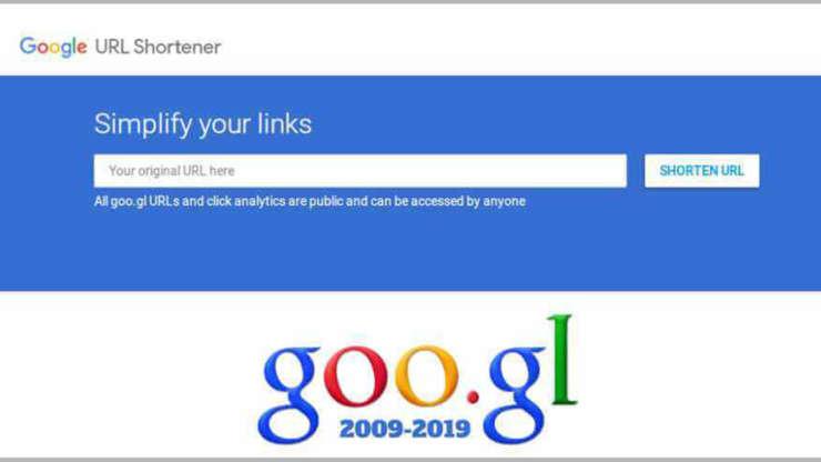 Enlaces cortos desaparecen de Google