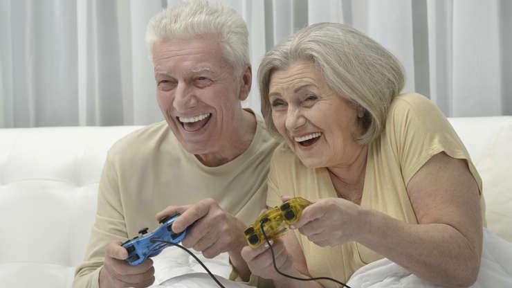Los videojuegos la mejor medicina para el envejecimiento de la mente