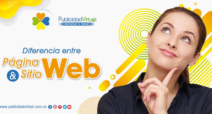 Diferencia entre página web y sitio web