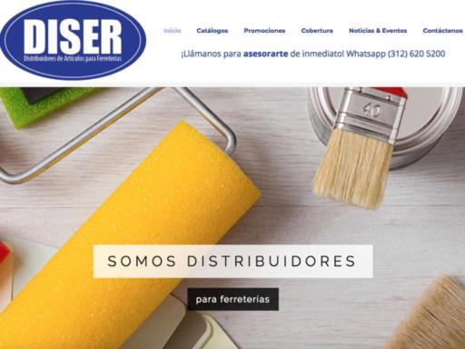 Página web Diser