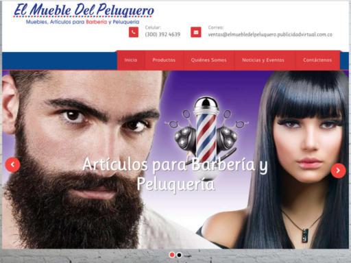 Página web de el muebledelpeluquero