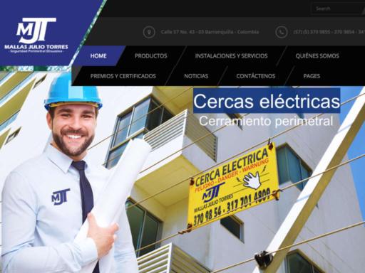 Página web mallas julio torres