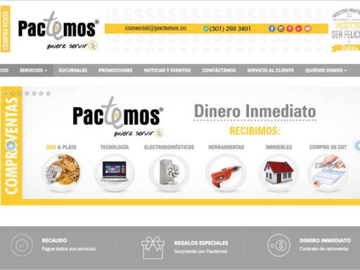 Página web pactemos