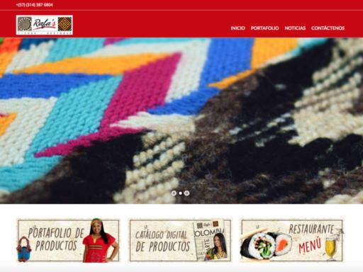 Página web rafas tienda