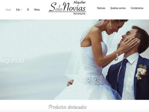 Página web solo novias